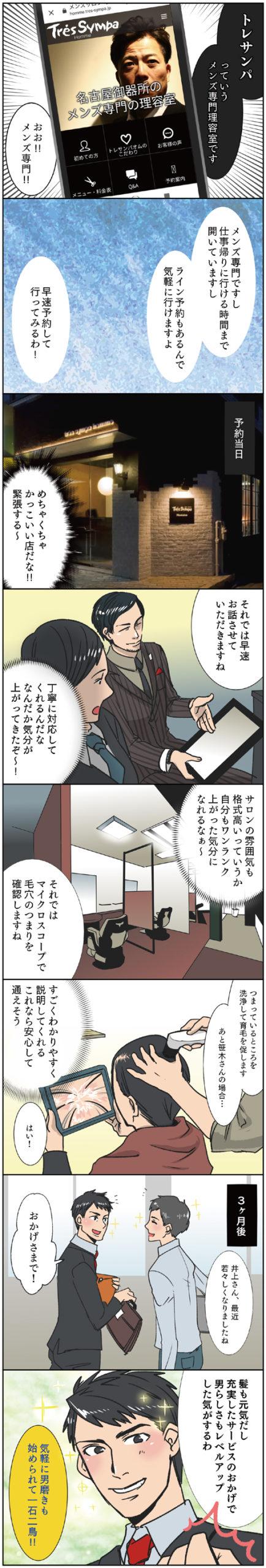 発毛漫画2
